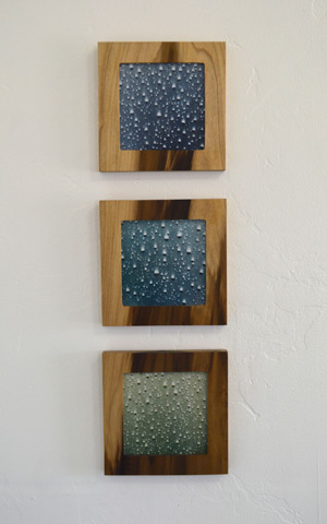 Framed Rain Art