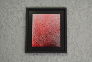 Red Painting of the Rain